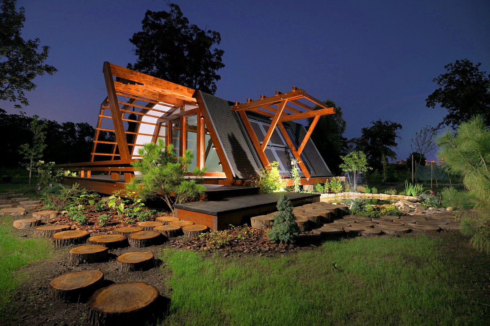 Soleta zeroenergy sustainable wooden house ecologic home dwell fachwerk prefab homes ANSONIA 10