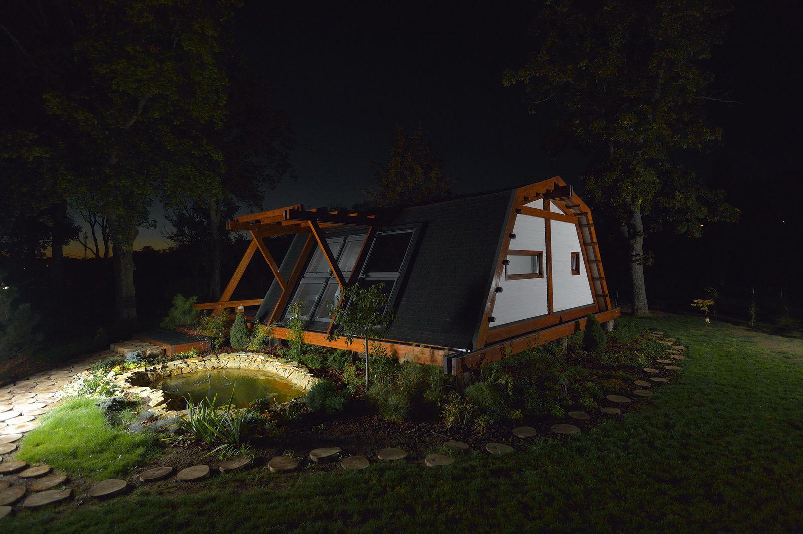 Soleta zeroenergy sustainable wooden house ecologic home dwell fachwerk prefab homes ANSONIA 23