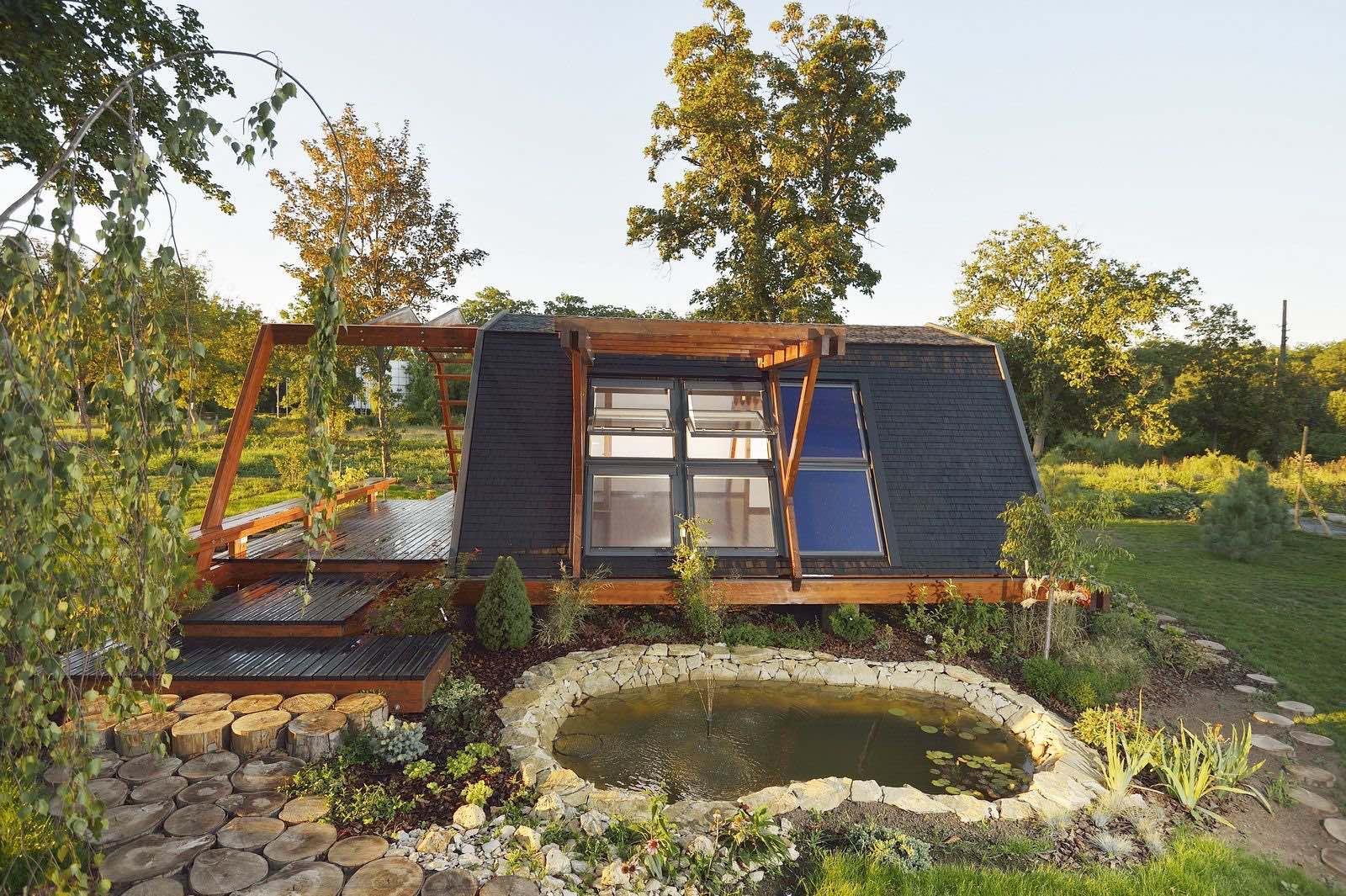 Soleta zeroenergy sustainable wooden house ecologic home dwell fachwerk prefab homes ANSONIA 29