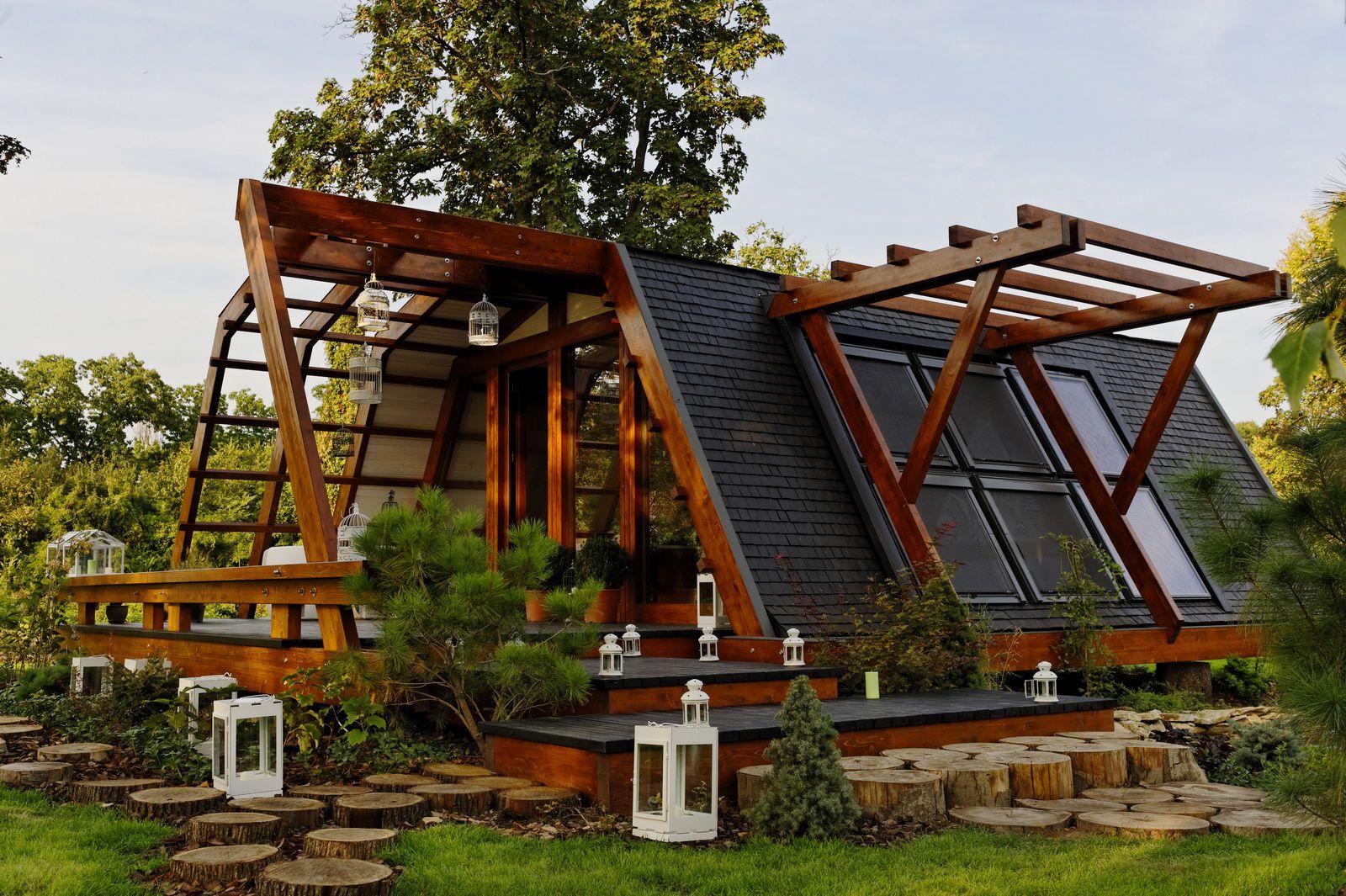 Soleta zeroenergy sustainable wooden house ecologic home dwell fachwerk prefab homes ANSONIA 37