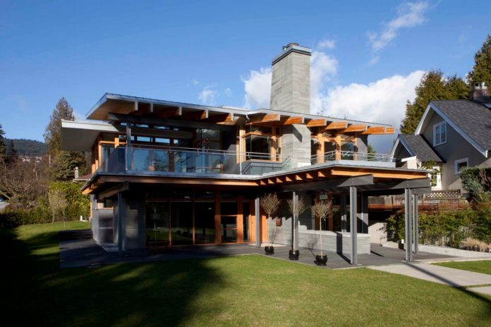 The West Vancouver - Chosun residence by Kevin Vallely