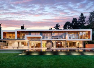 Luxury residence on Sunset Strip