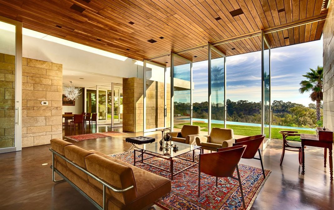 The carrillo residence by ehrlich architects caandesign - Limposante residence contemporaine de ehrlich architects ...