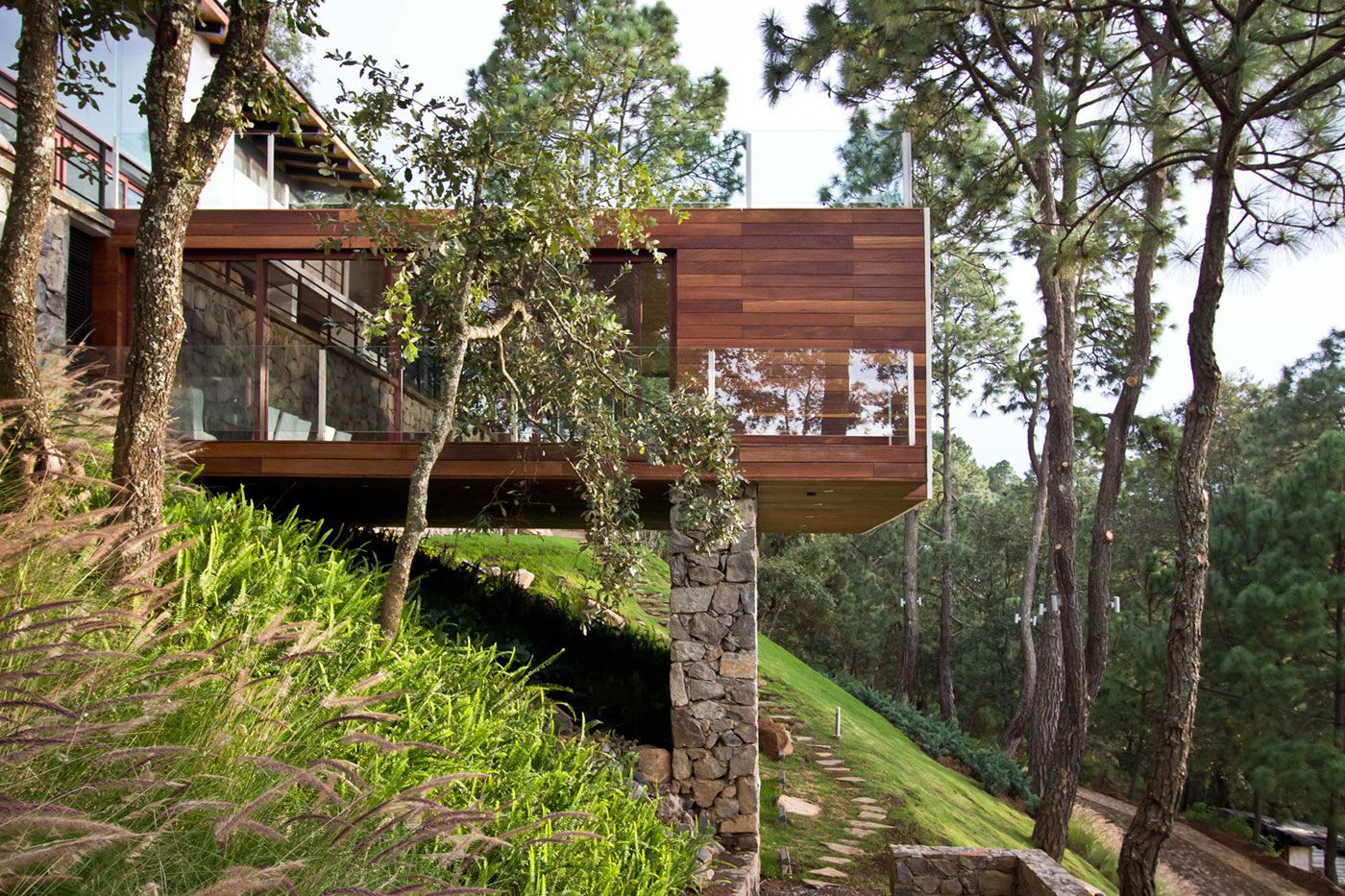 The forest house by espacio ema caandesign for Forest house