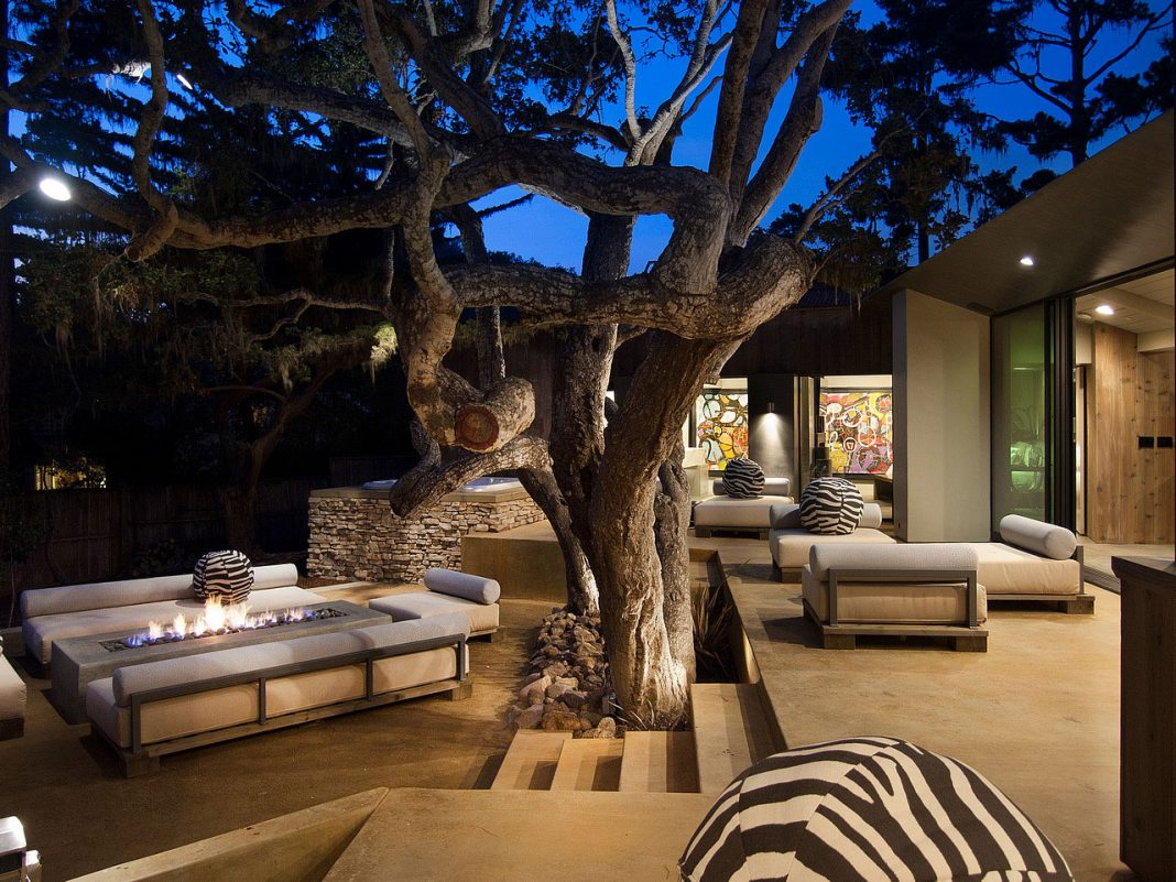 pebble beach residence by conrad design group caandesign