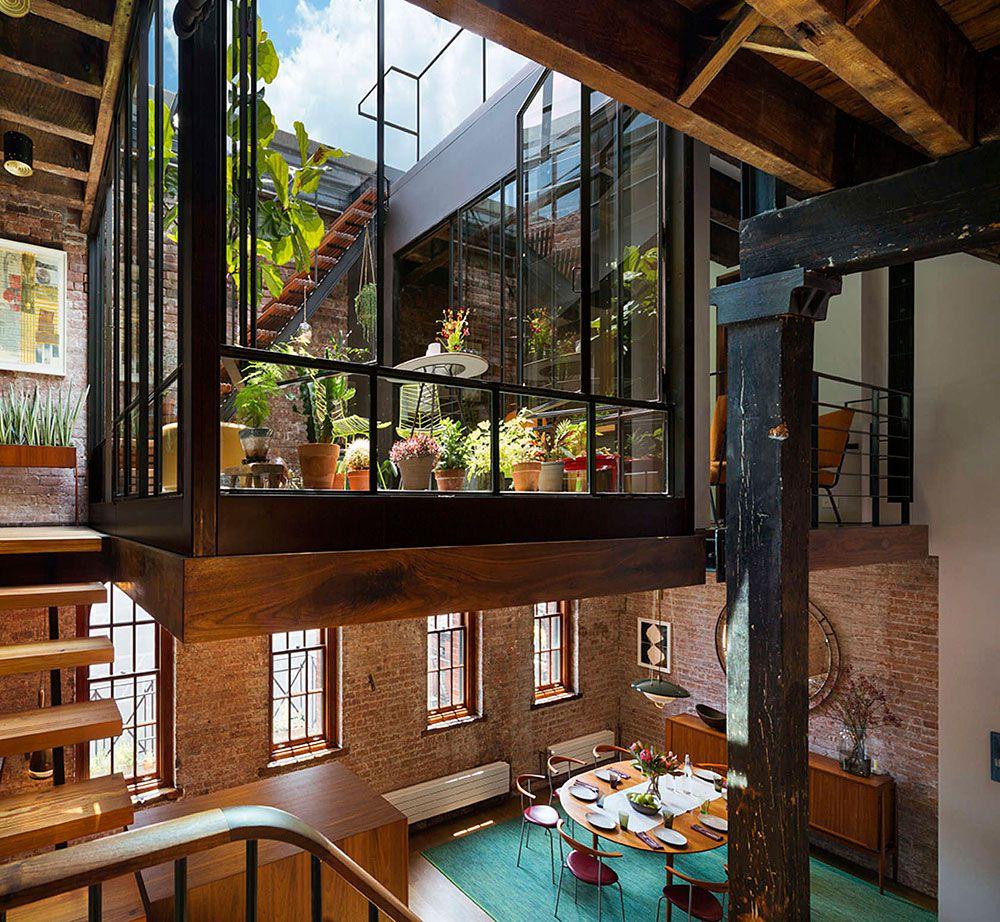 Manhattan New York Studio Apartments: Tribeca Loft By Andrew Franz Architect