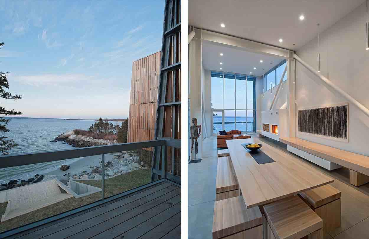 Two Hulls House By Mackay Lyons Sweetapple Architects