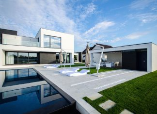 Ultramodern C House in Timisoara by Parasite Studio