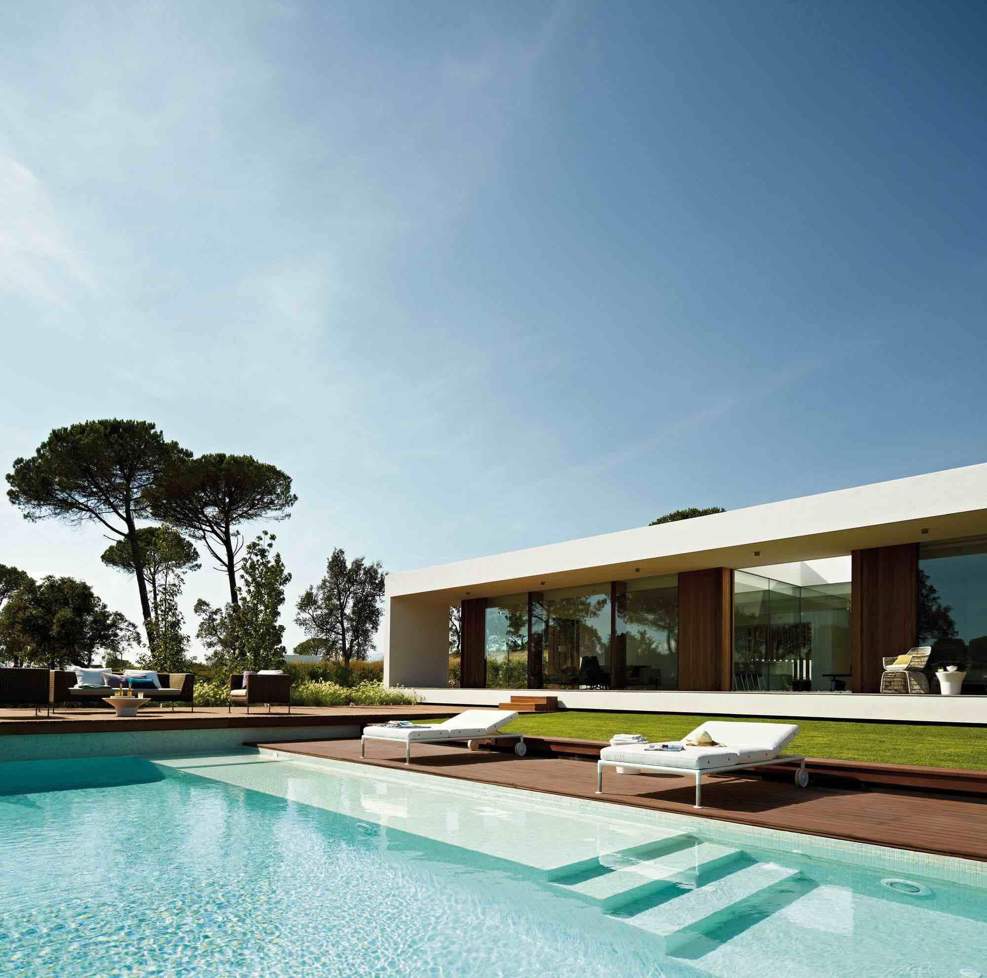 villa indigo by josep camps and olga felip caandesign architecture and home design blog. Black Bedroom Furniture Sets. Home Design Ideas