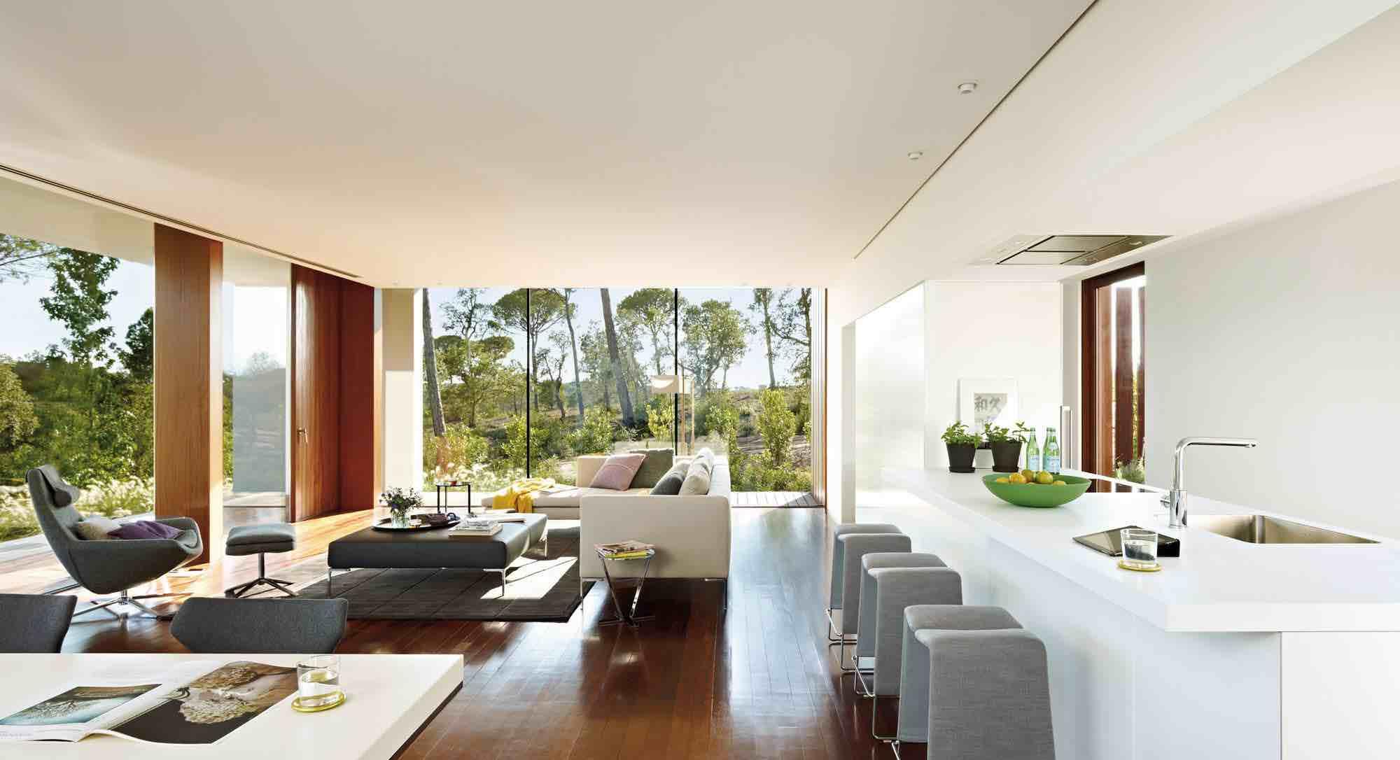 Villa indigo by josep camps and olga felip caandesign for Interieur villa design