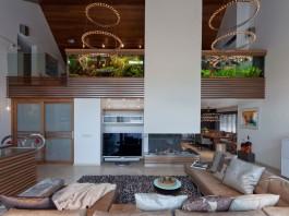 Villa with Aquarium by Centric Design Group