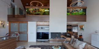 Villa with Aquarium by Centric Design Group