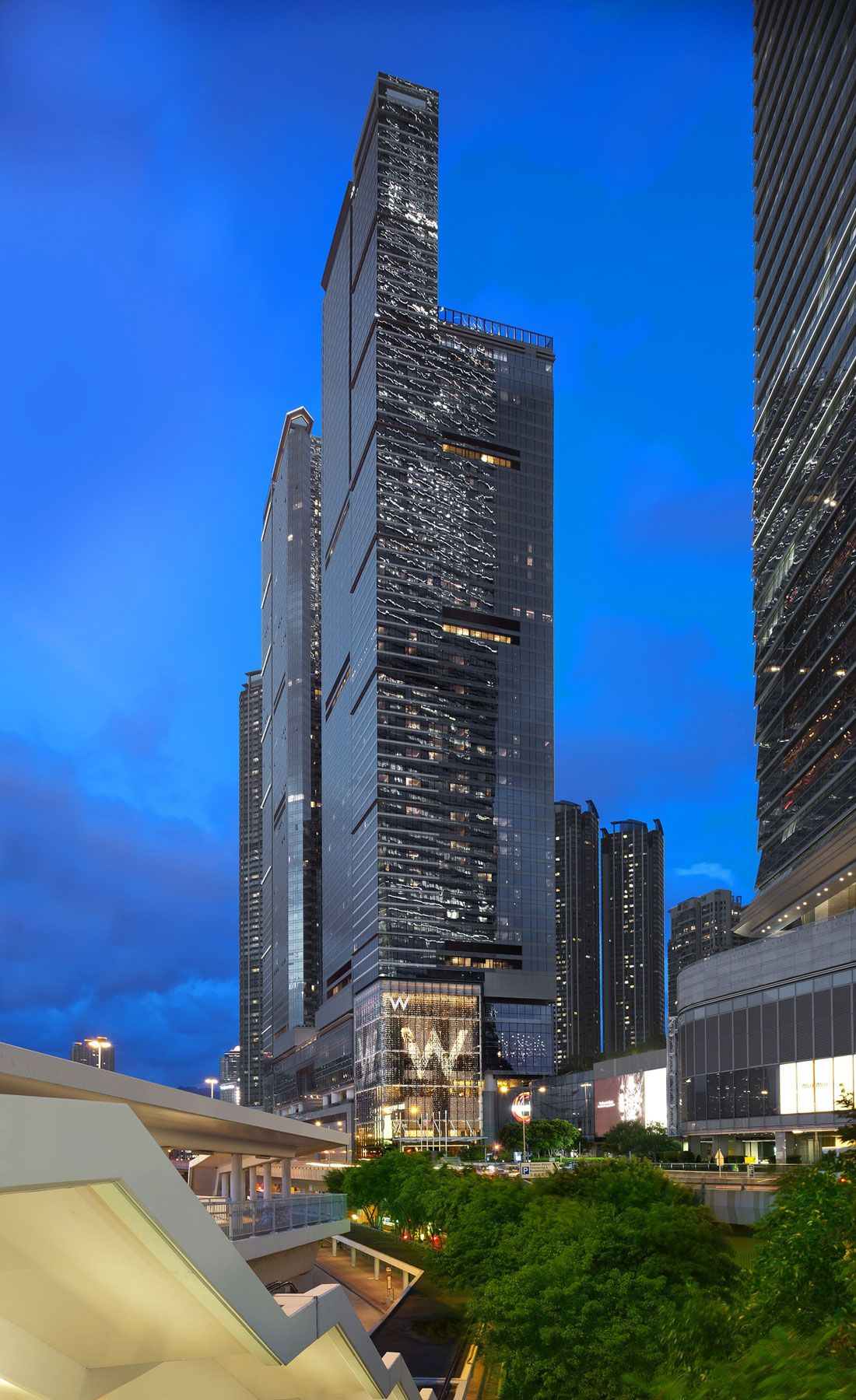 Luxurious W Hong Kong Hotel Caandesign Architecture