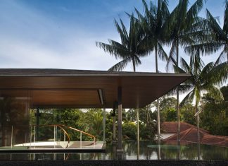 The Water-Cooled House in Singapore by Wallflower Architecture + Design