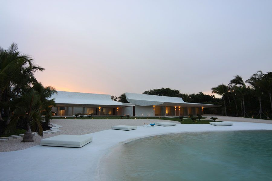 The Wave House by A-cero Architects