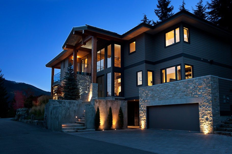 Luxury Chalet In Whistler Caandesign Architecture And