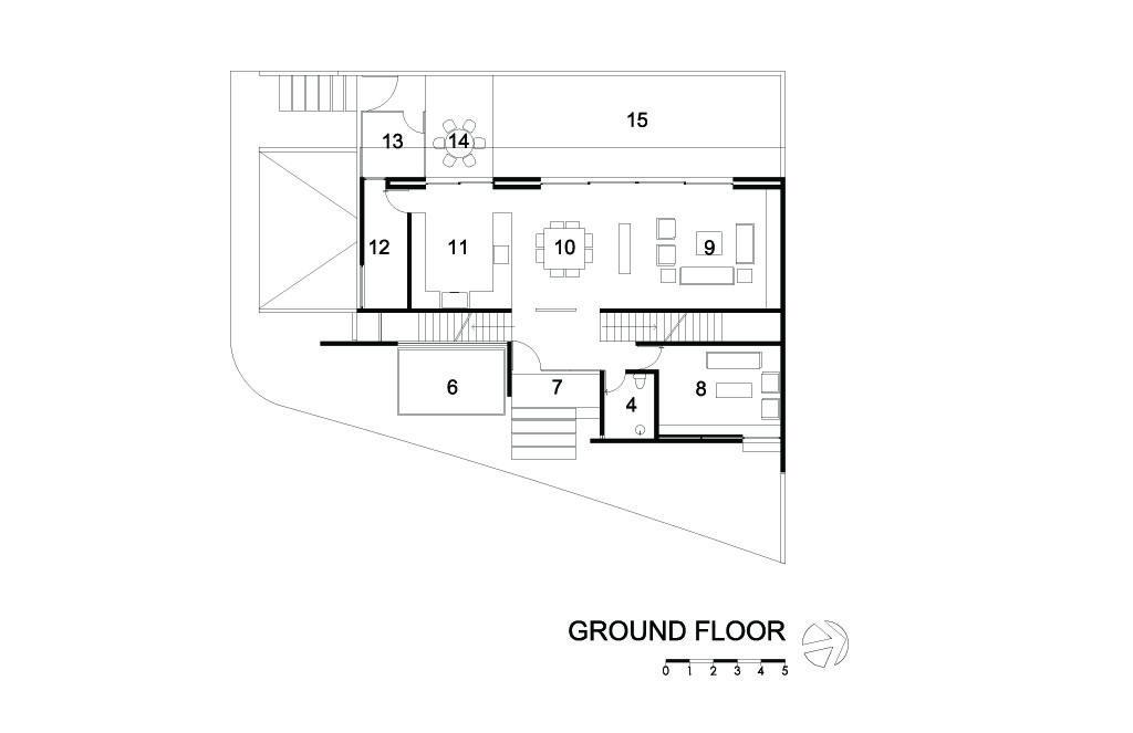 X House Ground Floor