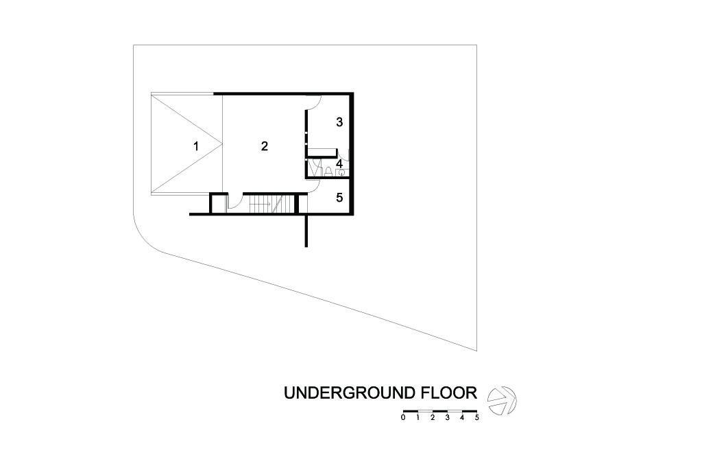 X House Underground floor