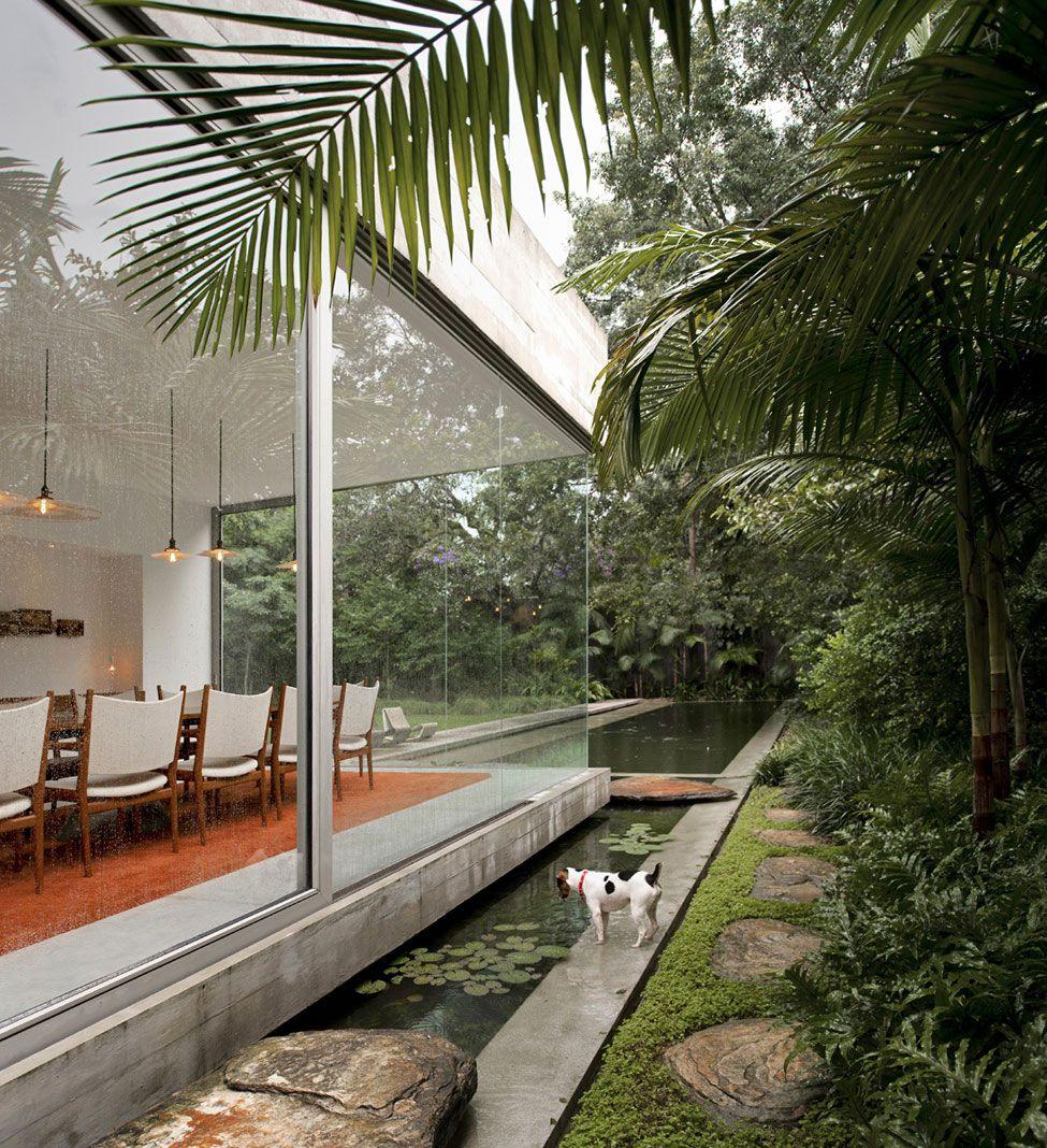 Reformed Sf Loft By Wardell Sagan Projekt: Yucatan House By Isay Weinfeld - CAANdesign