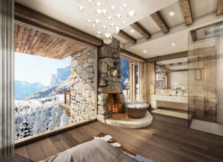 51 Degrees Thermal Resort by Marc-Michaels Interior Design Inc.