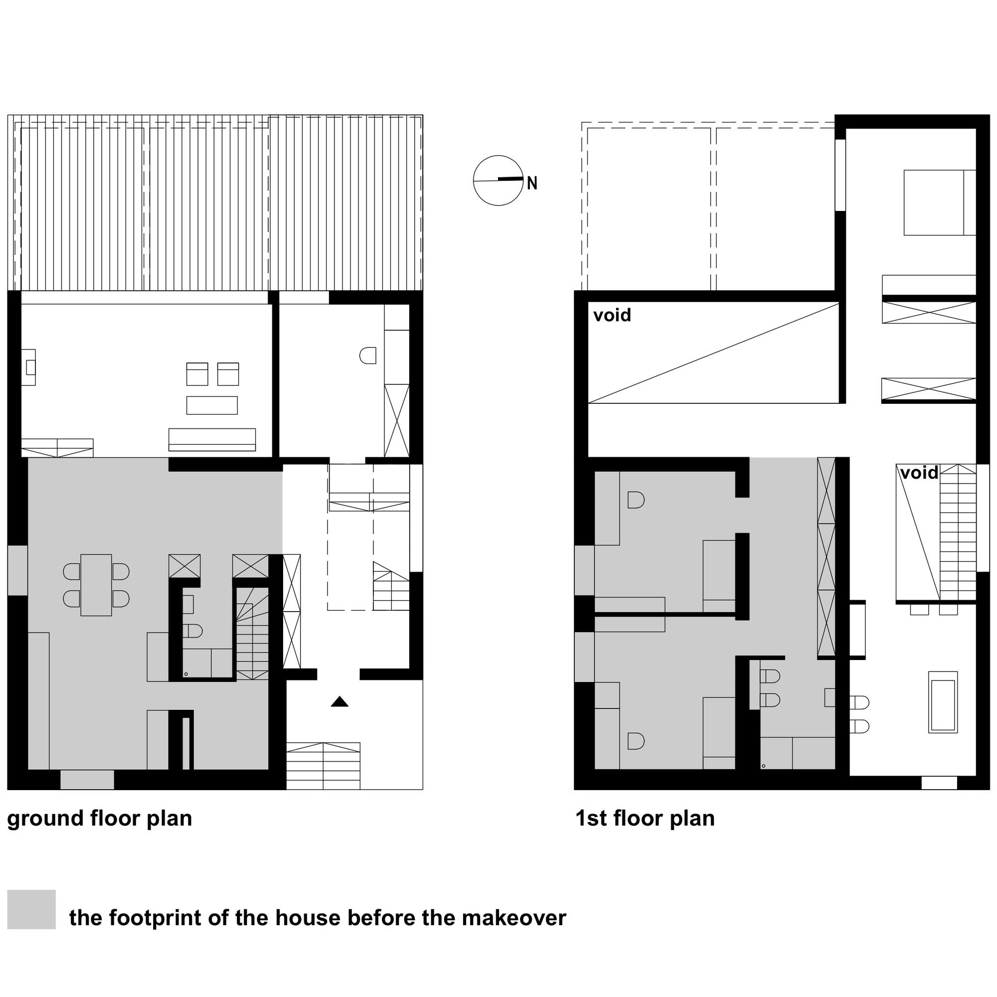 Black cube house by kameleonlab caandesign for Bc home plans