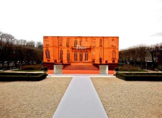 The Dior SS 2014 Fashion Show at Musée Rodin