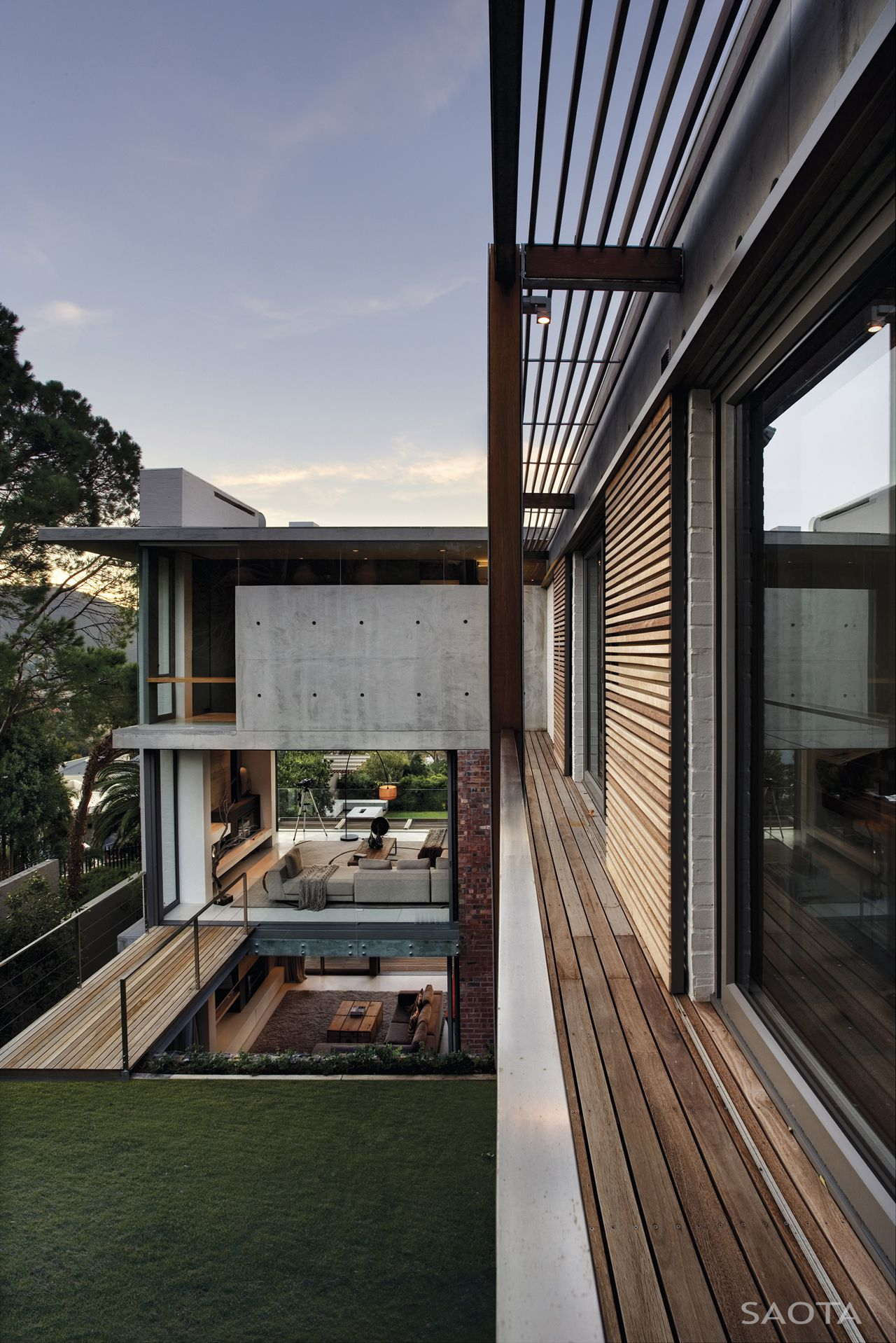 glen 2961 by saota caandesign architecture and home hopewell glen the gardens the bayhill home design