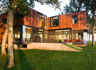 House on Lake Okoboji by Min | Day