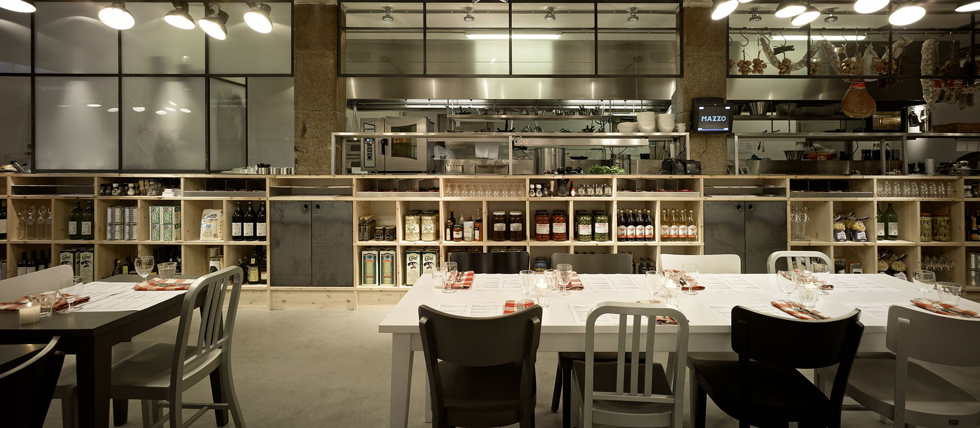 Mazzo by concrete caandesign architecture and home for Cafe mazzo