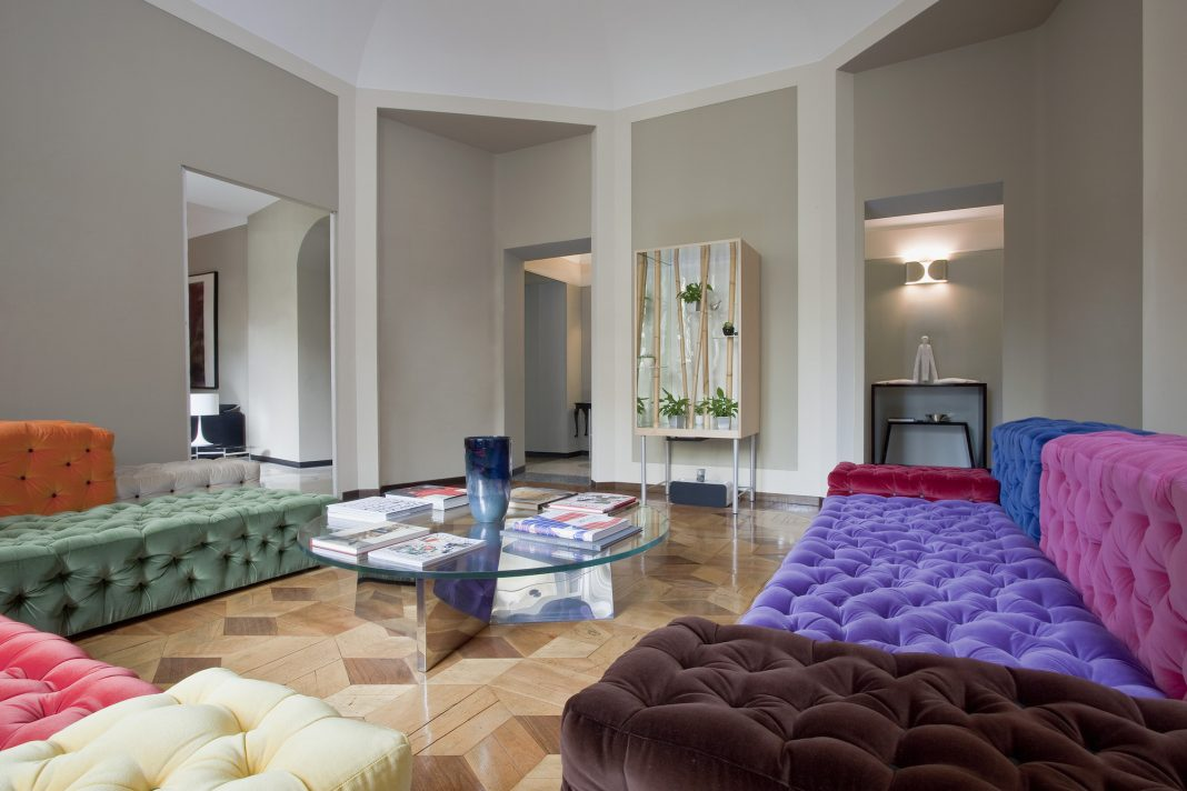 Contemporary apartment biancamaria by paolo frello - Idee deco appartement moderne ...