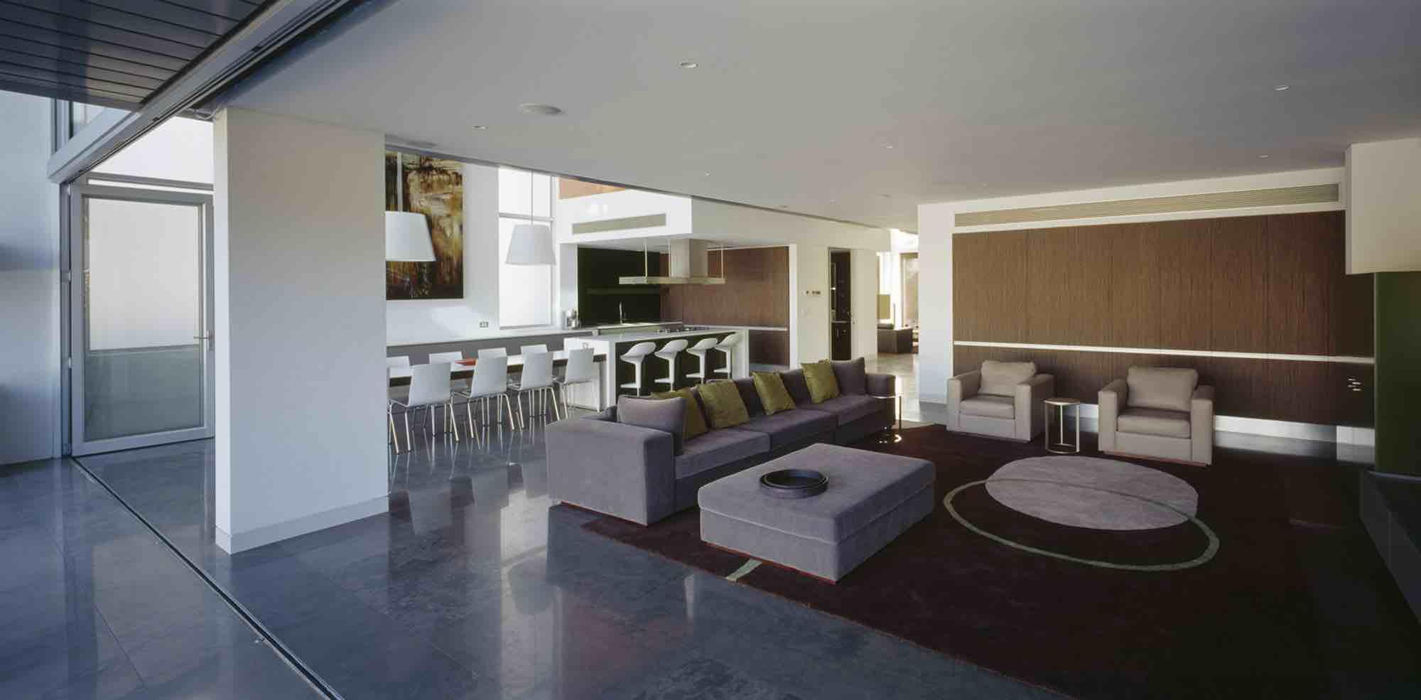 minosa-design-open-plan-high-ceiling-void-large-dinning-table-corian-benchtop-minosa-kitchen-gilda-03