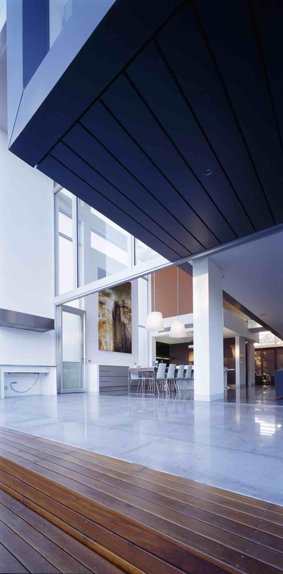 minosa-design-open-plan-high-ceiling-void-large-dinning-table-corian-benchtop-minosa-kitchen-gilda-09