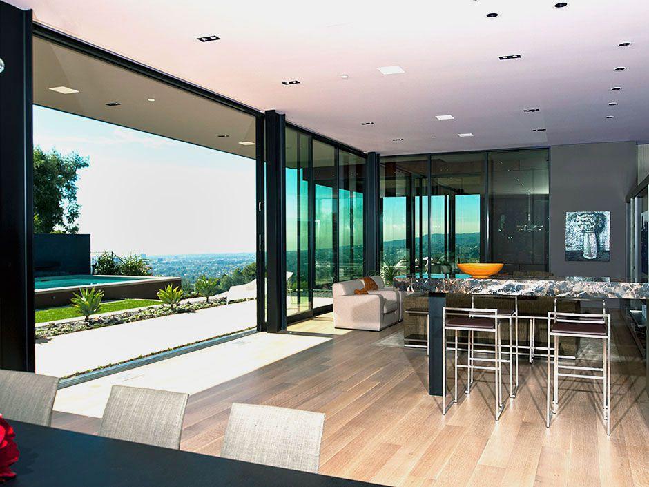 Warm luxury home on sunset strip caandesign - Architecture interieurs contemporains sunset strip ...