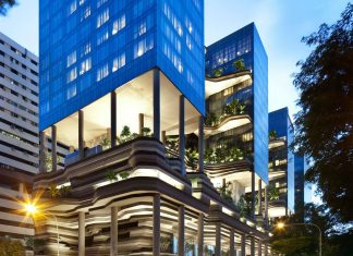 Parkroyal Design on Pickering by WOHA