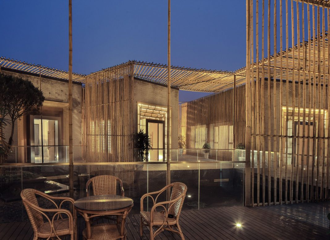 Bamboo Courtyard Teahouse by HWCDBamboo Courtyard Teahouse by HWCD