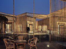 Bamboo Courtyard Teahouse by HWCDBamboo Courtyard Teahouse by HWCD