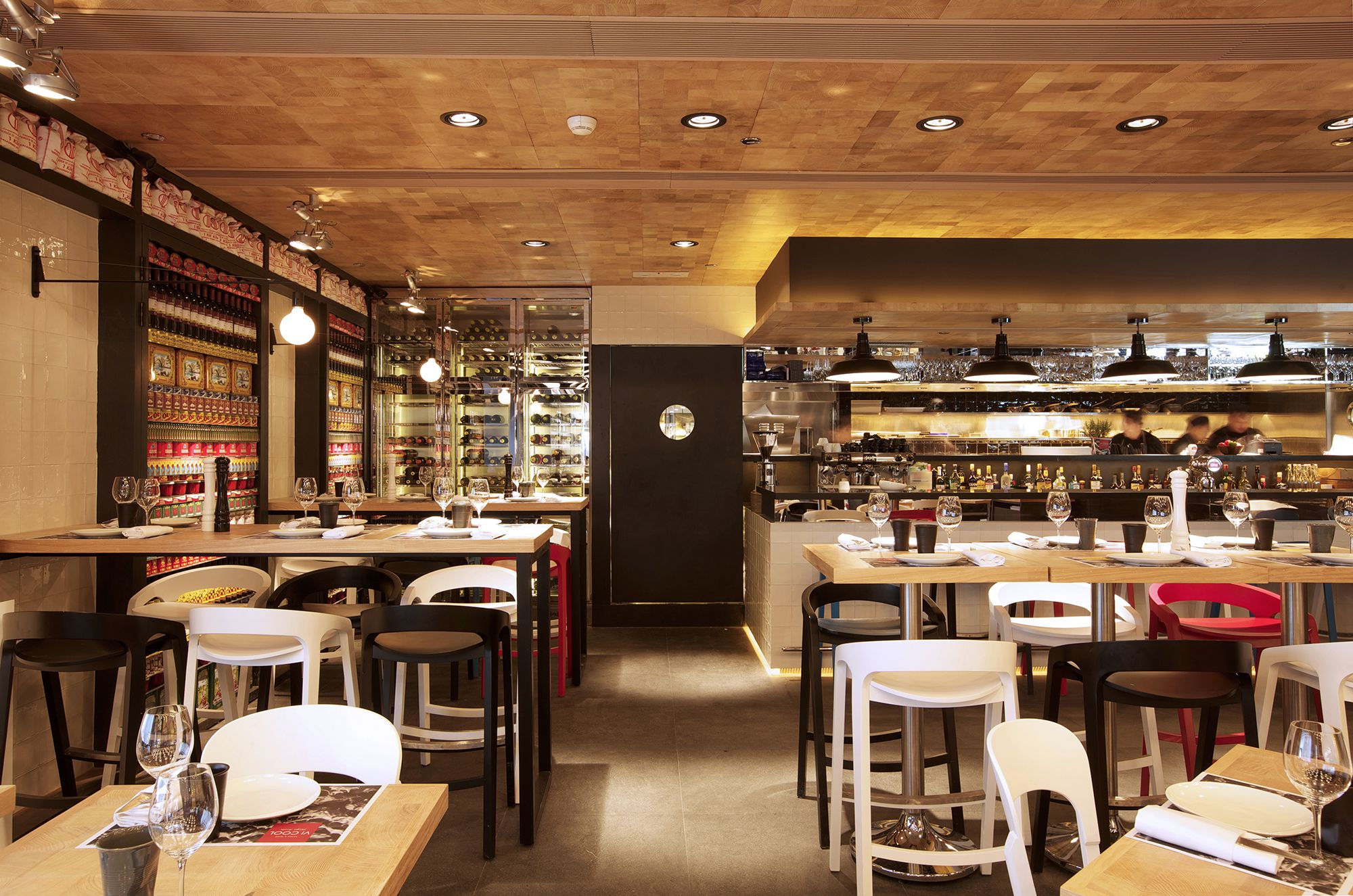 Vi cool restaurant design hong kong by concrete