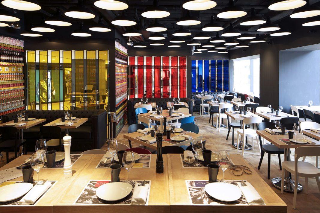 Vi cool restaurant design hong kong by concrete