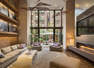80 Washington Place, Greenwich Village by William Rainero