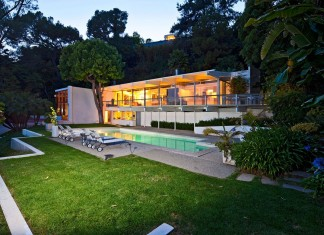 The 901 Bel Air Road Staller House by Richard Neutra, restored by Lorcan O'Herlihy Architects
