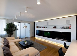 Apartment in Moscow by Alexey Nikolashin