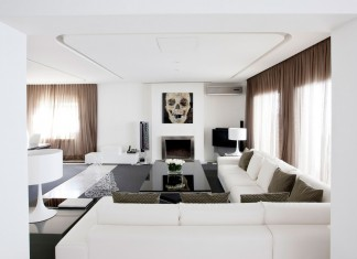 Luxury White Apartment in Madrid by IlmioDesign