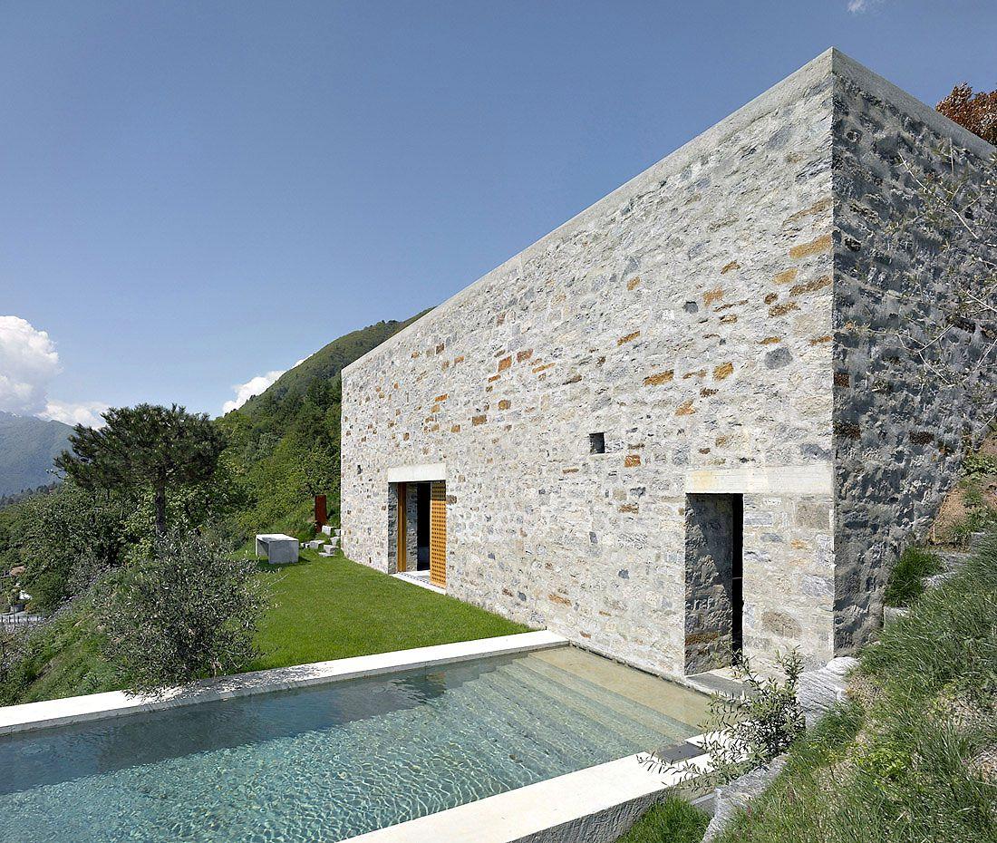 Brione House by Markus Wespi Jérôme de Meuron Architetti