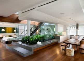 Broadway Penthouse by Joel Sanders Architect