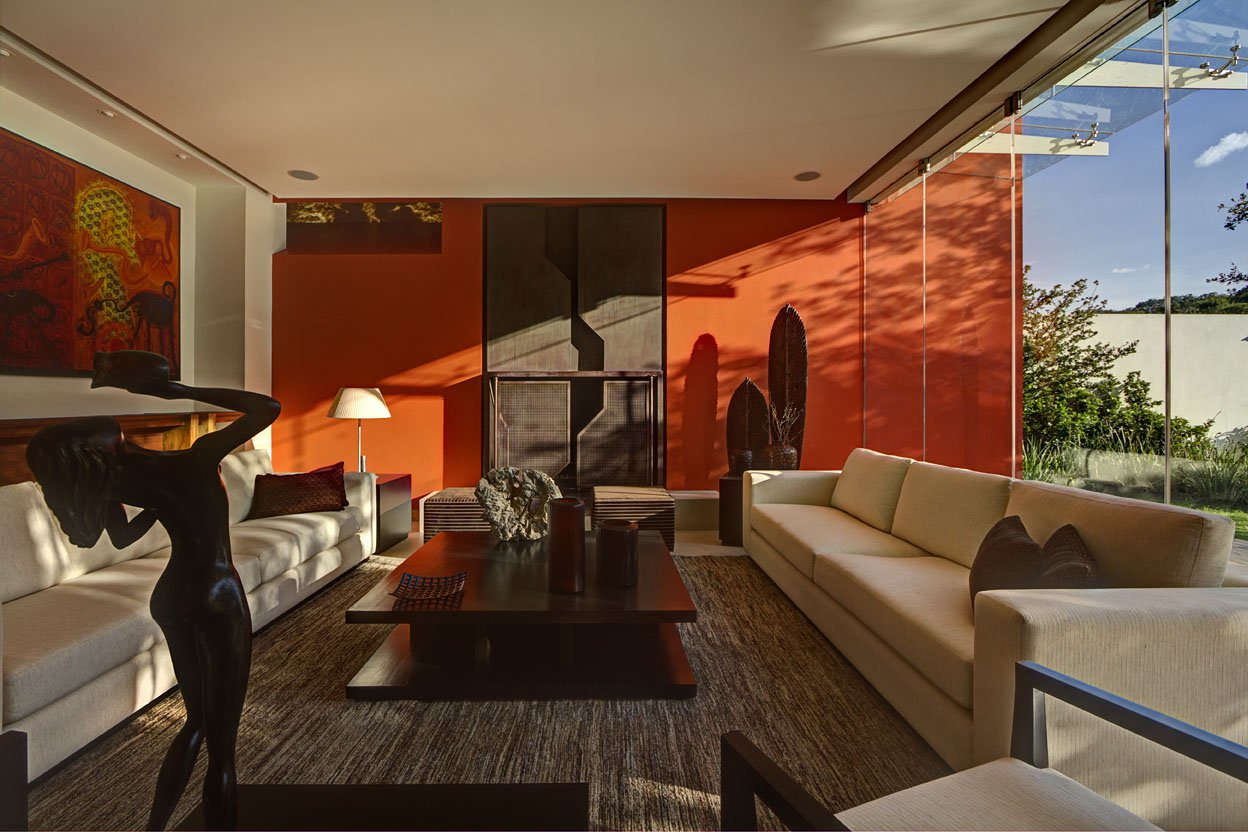 orange and brown living room ideas - nakicphotography