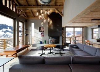 Luxury Chalet Cyanella in Megève by Bo Design