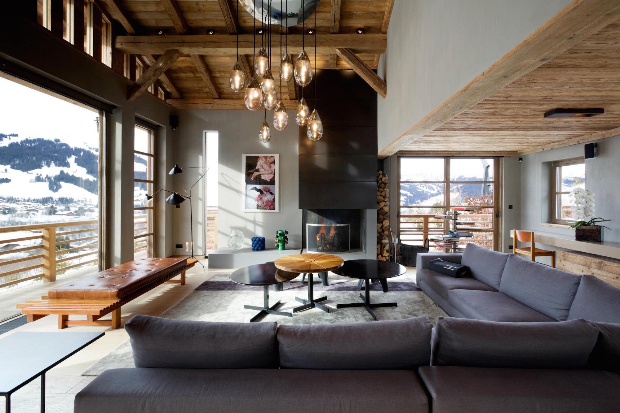Luxury Chalet Cyanella in Megève by Bo Design