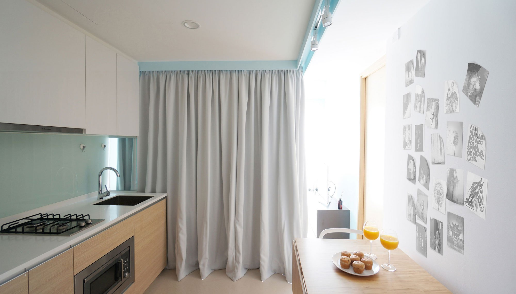 Curtain Apartment By Hue D Caandesign Architecture And