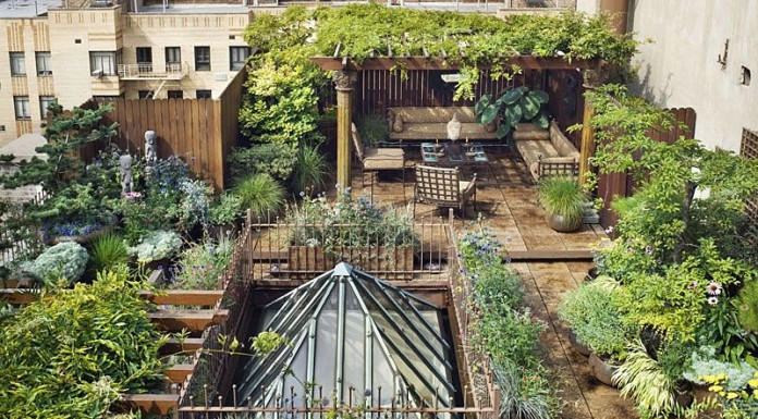248 West 23rd Street Penthouse with A Garden Paradise in Chelsea, New York