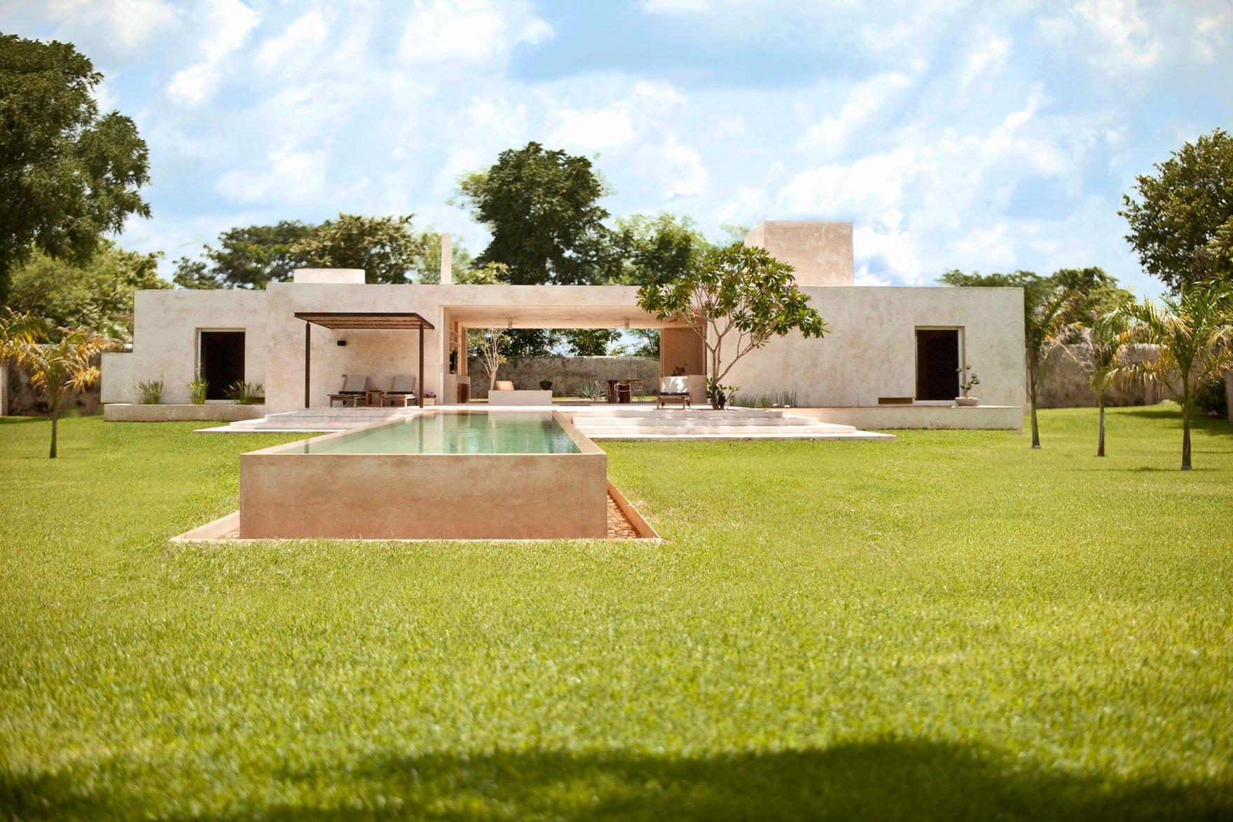 Hacienda sac chich by reyes r os larra n arquitectos for Casa de diseno guadalajara